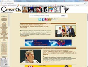 Edición anterior cronicón.net